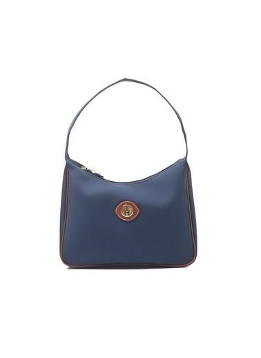 TH Bags TH Bags 1THCW2021081 Fermuarlı Tek Bölmeli Kadın Omuz Çantası Lacivert
